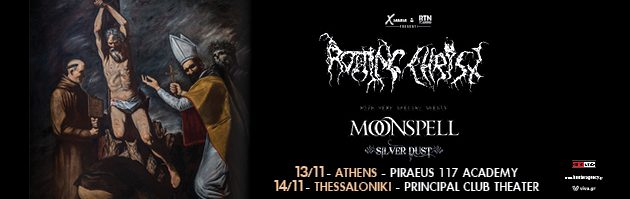 Rotting Christ & special guests Moonspell, Silver Dust